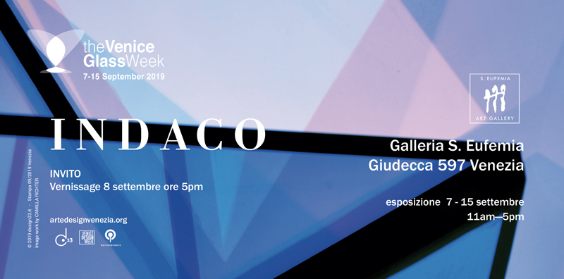 INDACO esposizione parte di The Glass week
